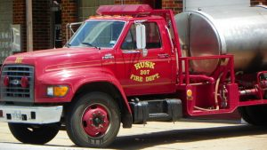 Rusk Fire Tanker Truck